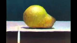 Painting Demonstration: Pear no 2 - Jos van Riswick