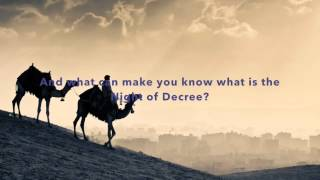 Surat Al Qadr (97) -Muhammad Salah Nafea (English subtitles)