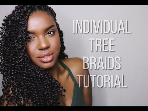 INDIVIDUAL TREE BRAIDS TUTORIAL | KARENANNETTE2