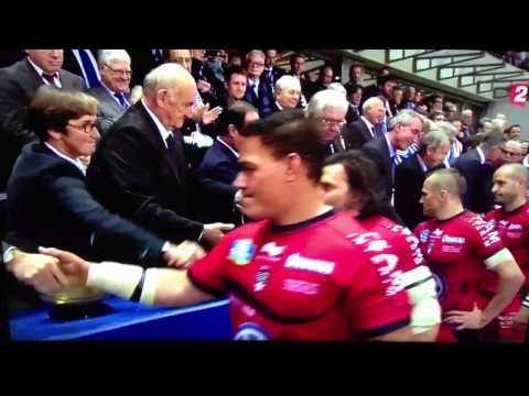 Un joueur de Toulon refuse de serrer la main de François Ho
