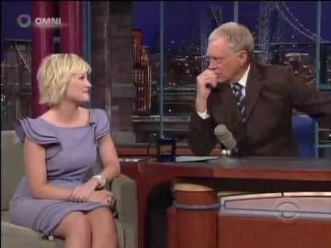 Elisha Cuthbert on David Letterman 16th April 2009