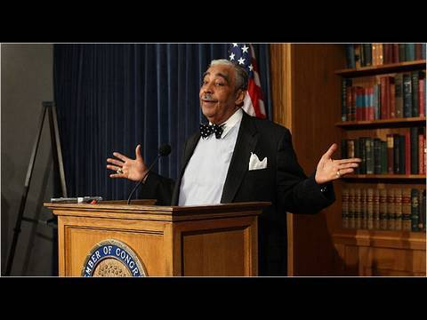 Charlie Rangel's Funny Speech Video