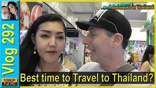Best time to Travel to Thailand?