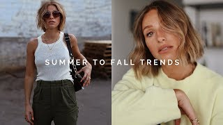 5 SUMMER TO FALL FASHION TRENDS 2019 | CLOTHING HAUL TRY ON + GIVEAWAY