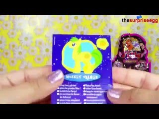 4 Blind Bags My Little Pony Wave 6 and Wave 8 Filly Marmaid and Filly Witchy unboxing