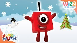 Numberblocks - The First Day of #Christmas | Learn to Count | Wizz Learning