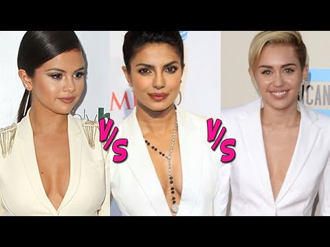 CLEAVAGE WAR: Priyanka Chopra VS Selena Gomez VS Miley Cyrus - Who Wore It Better? thumbnail