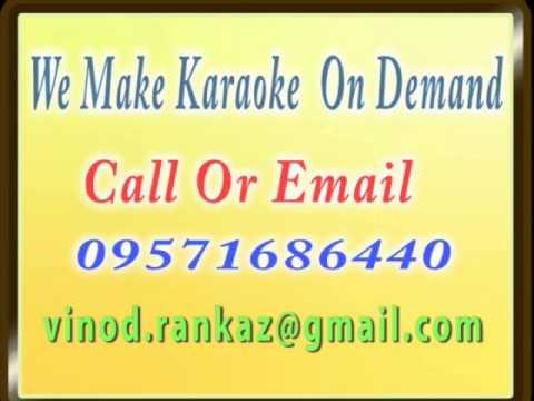 Khubsoorat Haseena Jane Jaan Janeman   Karaoke   Mr X In Bombay...