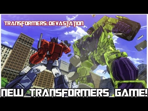 NEW TRANSFORMERS VIDEO GAME!!! Transformers: Devastation - Coming to All Systems (Except Wii U)