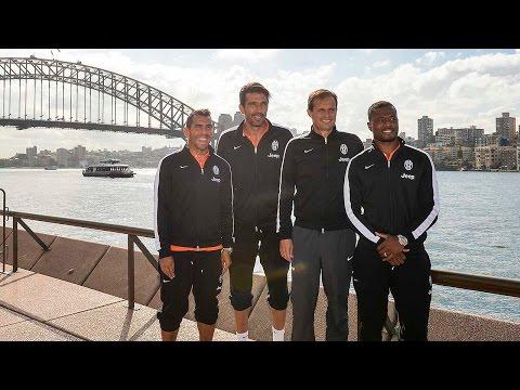 Il primo giorno della Juventus in Australia - Hello Sydney! –Day one in Australia