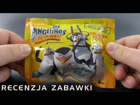 Tajemniczy pingwin z saszetki - polska recenzja zabawki - Pingwiny z Madagaskaru