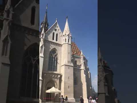 Fischerbastei in Budapest, Hungaria/Ungarn, 29.08.2019 (3)