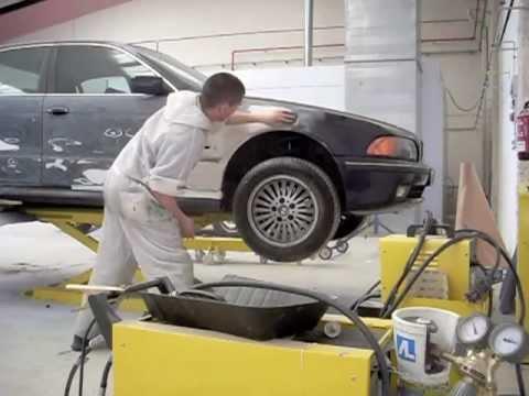 Reparar y Pintar un coche con acabado profesional: proceso completo