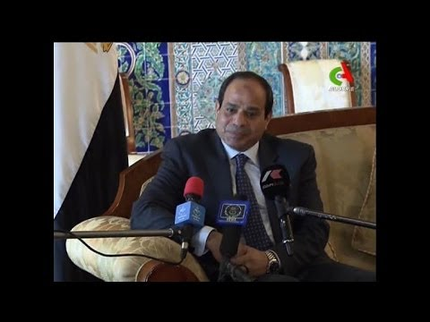 Egypt's newly-elected Sissi in Algieria on first state visit