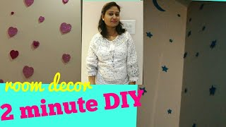 DIY project for home,2 minute diy,anvesha,s creativity