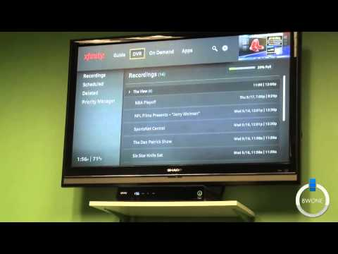 Comcast X1 Box - An In Depth Look