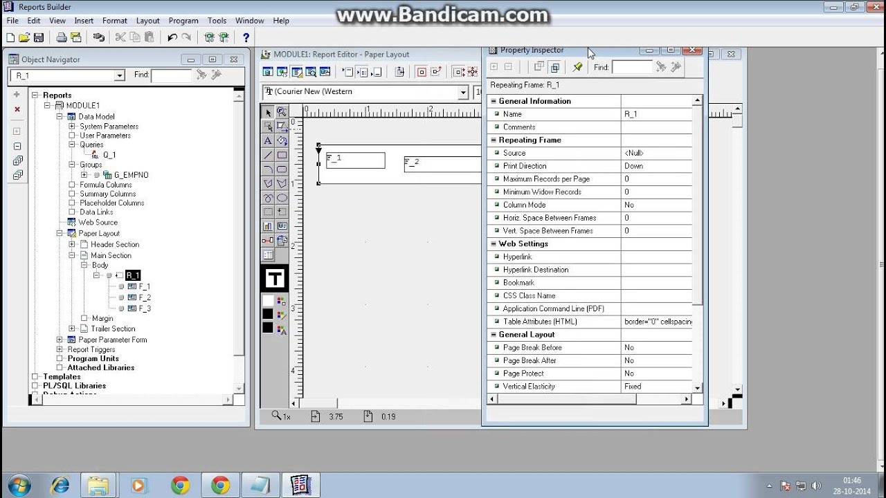 How to Use Page Break in XML Publisher Report Based on a RDF