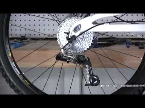 Installing and Adjusting Rear Derailleur