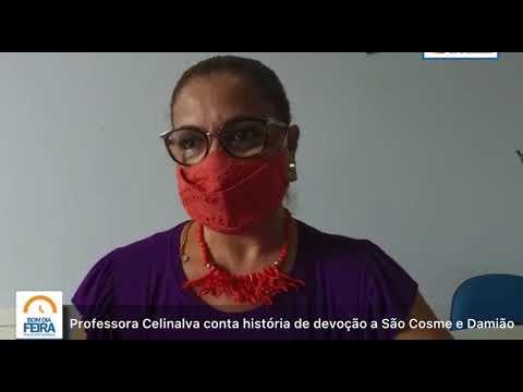 Professora Celinalva conta história de devoção a São Cosme e Damião