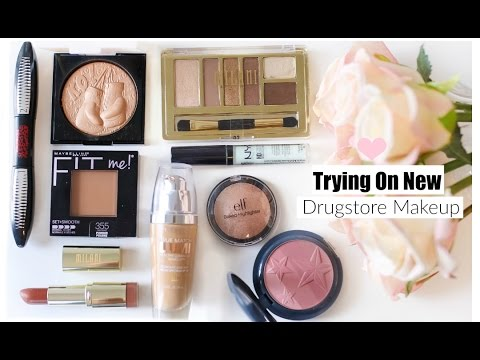 Trying On New Drugstore Makeup - Hits & Fails  MissLizHeart