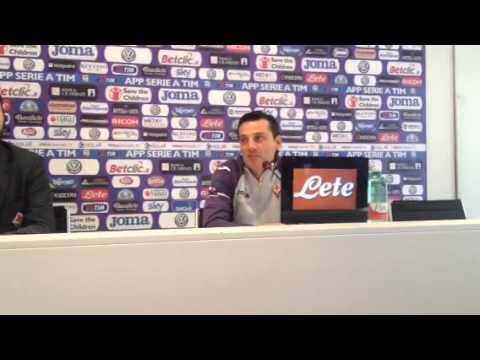 Vincenzo Montella parla di Cuadrado, Bernardeschi e Babacar