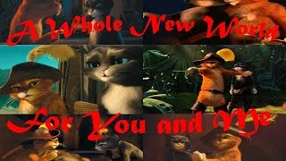 Puss in boots & Kitty Softpaws_A Whole New World