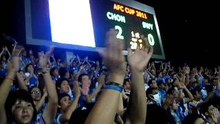 Chonburi F.C. 3-0 Sriwijaya , AFC Cup 25 May