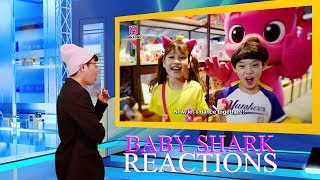 Original Baby Shark | Go #BabySharkChallenge | Special Thank You Video | Jidin Baby | REACTIONS
