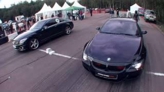 Mercedes CL63 AMG vs BMW M6