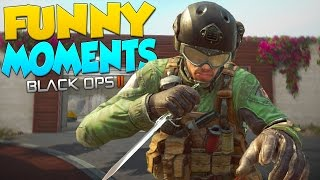 Black Ops 2 Funny Moments - Assault Shield, Kettle Noise, Tyrone!
