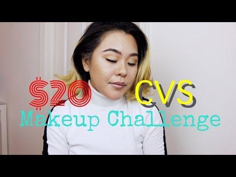 CVS $20 Makeup Challenge 2015 Makeup Starter Kits!! 安いコスメでフルメイク!
