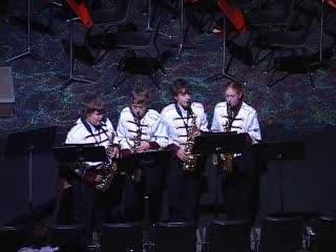 Manhattan Adventure Saxaphone Quartet - 2006