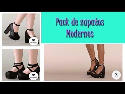 Los sims 3 Descargas: Pack de zapatos Modernos