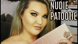 LAURA LEE NUDIE PATOOTIE EYESHADOW PALETTE | DEMO + REVIEW