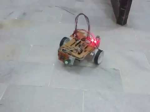 remote controlled robot for millitary operation