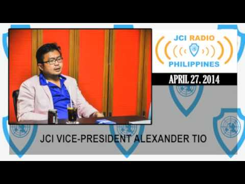 JCI Radio Philippines - Interview with Vice-President ALEX INTERVIEW