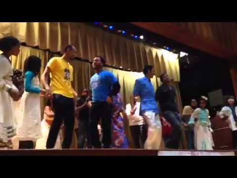 Ethiopian Dance - Abogida Roots Instructors Battle