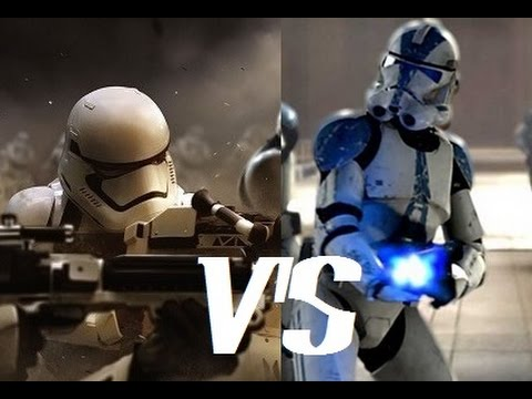 Republic Clone Trooper Vs First Order Stormtrooper. Who Would Win?