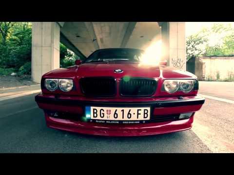 БМВ е38 самый клевый ролик 2016