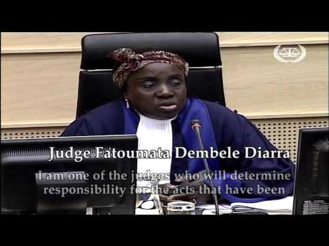 """In the courtroom"" programme: The cases of Germain Katanga and Mathieu Ngudjolo Chui"