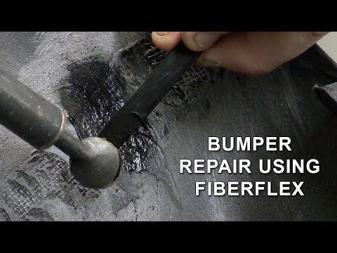 Bumper Repair with Plastic Welder