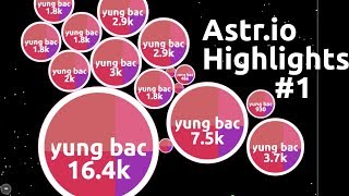 Astr.io - Multibox Highlights #1