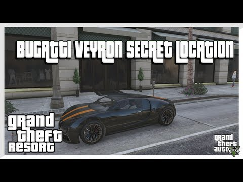 GTA 5 - BUGATTI VEYRON SECRET LOCATION *Truffade Adde* (Grand Theft Auto 5 Secrets)