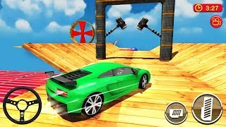 Car Driving & Racing On Crazy Sky Tracks (by CrAzy Games) Android Gameplay [HD]