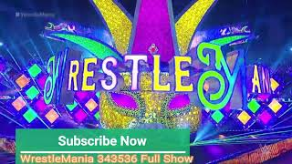 WrestleMania 34 set revealed 2018 | WWE WrestleMania Wrestling | By WrestleMania 343536 Full Show