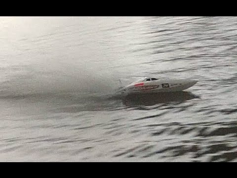 Quanum Aquaholic Brushless Deep V Racing Boat 740mm