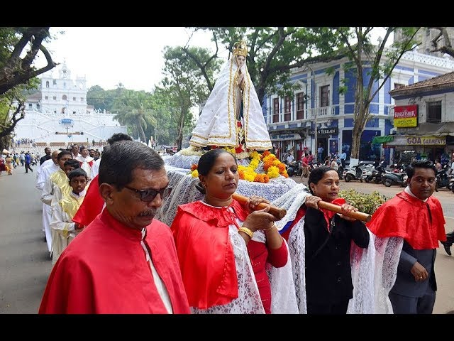 Goa: Devotees throng Feast of Our Lady of Immaculate Conception