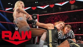 Becky Lynch vs. Charlotte Flair: Raw, Oct. 14, 2019