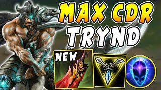 40 Max Cdr Tryndamere Is Back 100 Crit And Massive Lifesteal Build