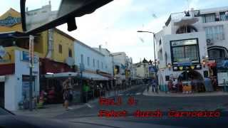 Portugal / Algarve, Teil 3: Fahrt durch Carvoeiro